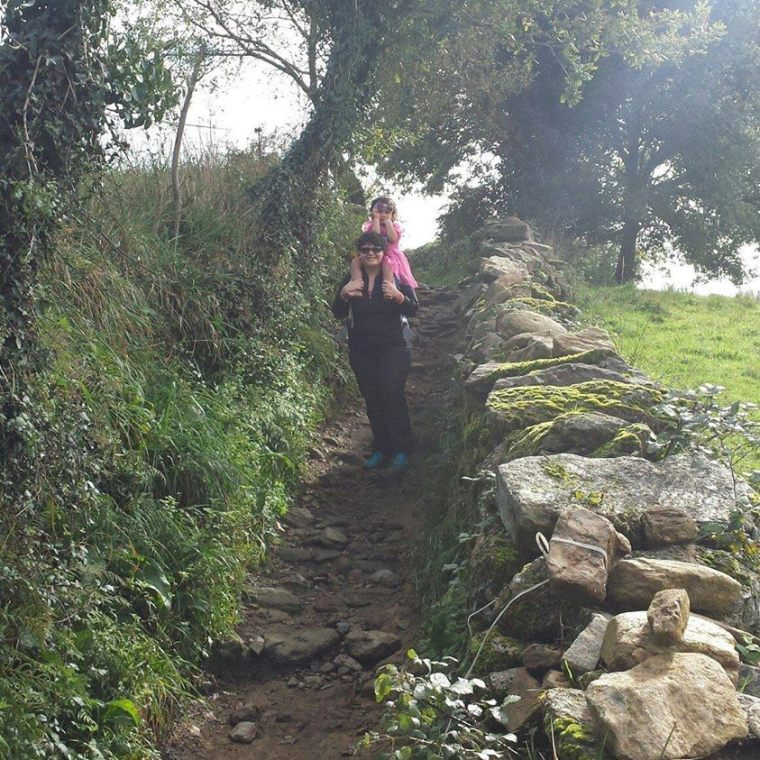 SPIRITUAL JOURNEY. For the first years of Malia's life, Annie wanted to get the rare opportunity to travel and find their spirituality as a life long team of mother and daughter. Photo from Annie Lulu's Facebook page