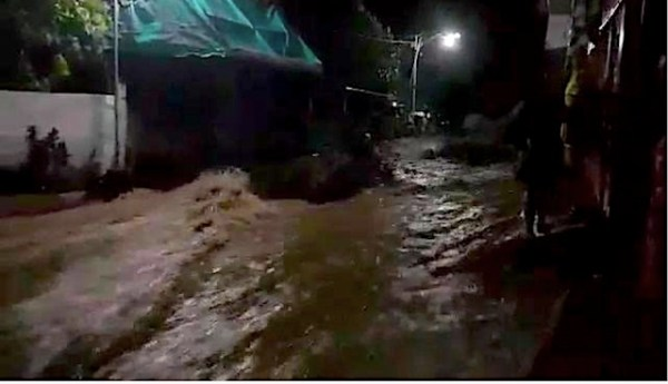 WATCH: Flooding in Samar, Sorsogon over Usman