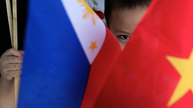 Image result for china, philippines, flags