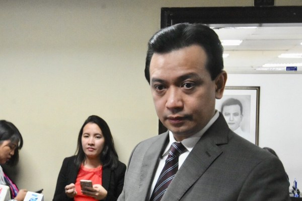 Trillanes will not leave Senate anytime soon: 'I won't ...