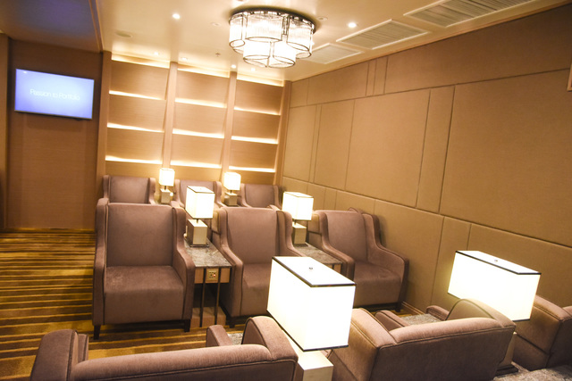 FIRST CLASS. The recently installed new premier lounge at Mactan-Cebu International Airport.