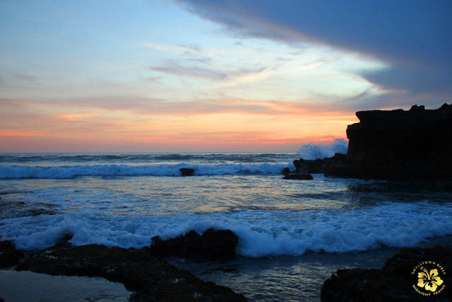 BEHOLD. Sunset at Tanah Lot