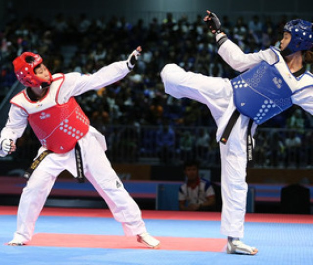 Taekwondo Jin Kirstie Alora Falls To Cambodian For Sea Games Silver