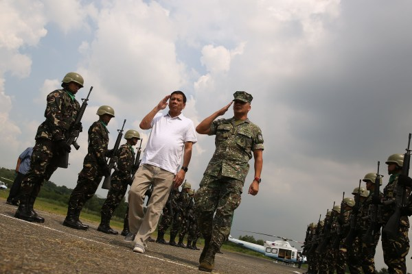Retired Analyst: Why has Duterte visited 14 military camps ...
