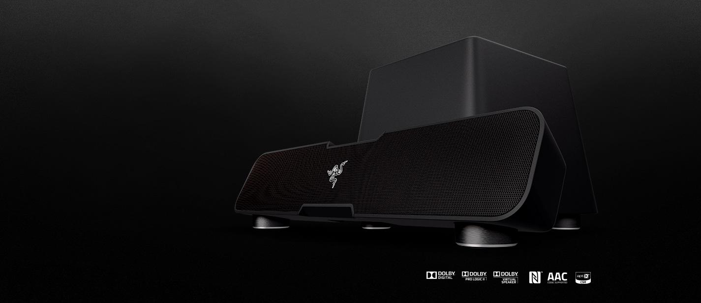Razer Leviathan 51 Channel Surround Sound Bar For Gaming