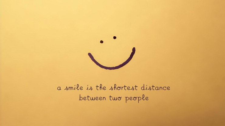 Image result for accept people for who they are and smile