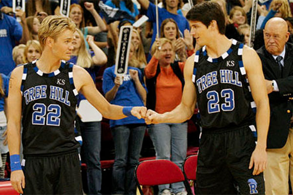 Image result for nathan and lucas scott