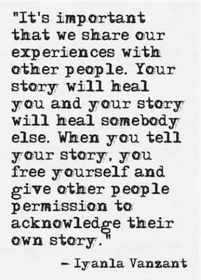 The Healing Power Of Sharing Your Story