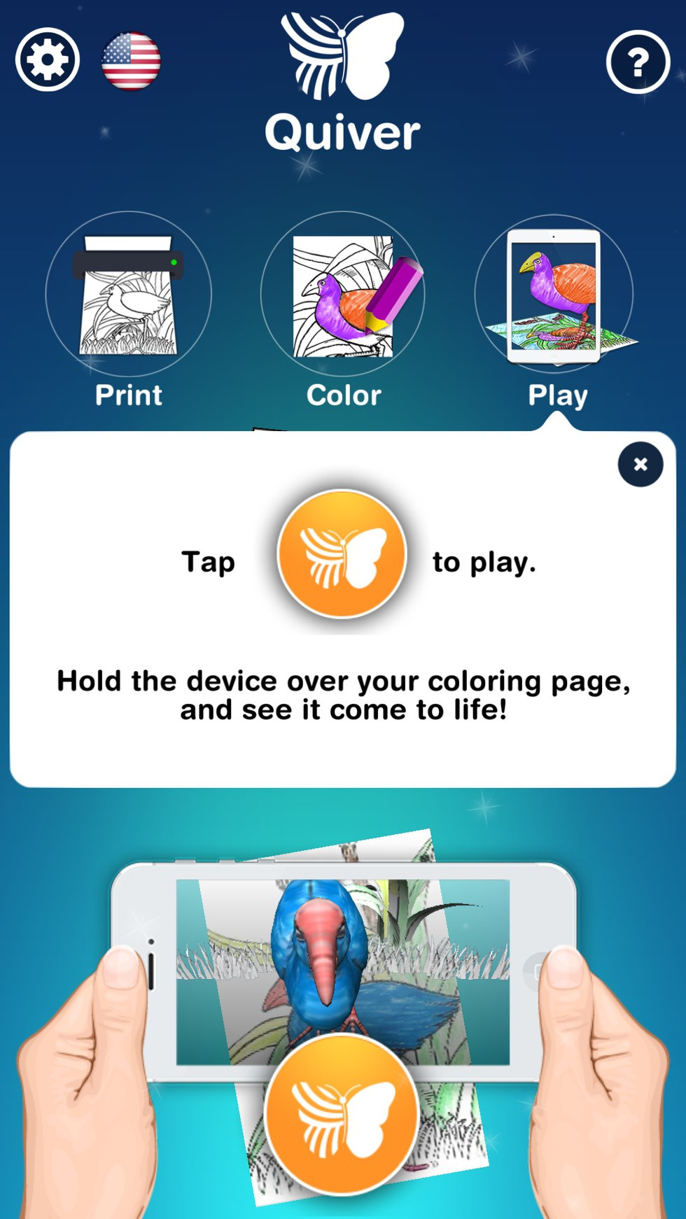 Quiver Review 3d Augmented Reality Coloring App For Adults
