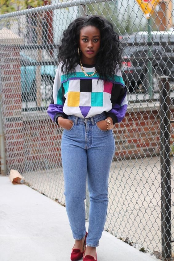 8 Of The Best 80s Fashion Trends Mom jeans are probably one of the best trends that came from the 80s  They  are stylish and usually very flattering  In today s fashion  we see many  people