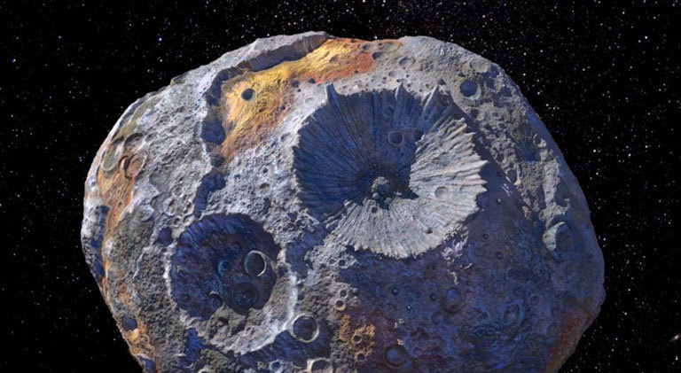 Space miners race to an asteroid worth quintillions