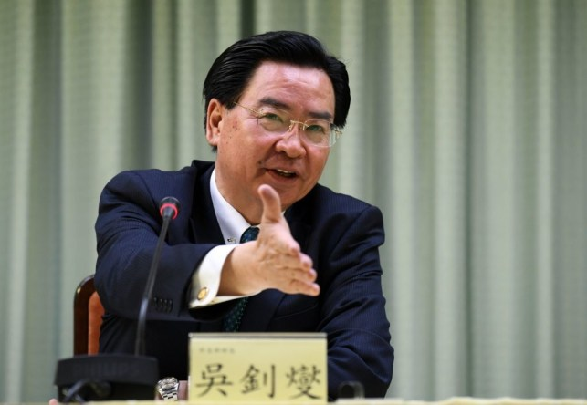 Top Taiwan leader punches back at China for trying to blame US over coronavirus pandemic