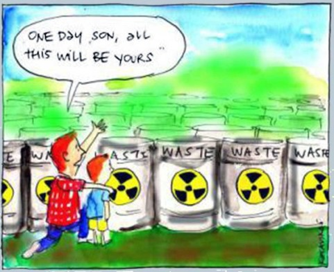 Image result for radioactive waste