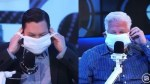 Watch: Glenn Beck takes Dr. Fauci's double-masking advice to heart