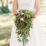 These All Greenery Wedding Bouquets Are Perfect For The Non Traditional Bride Brit Co