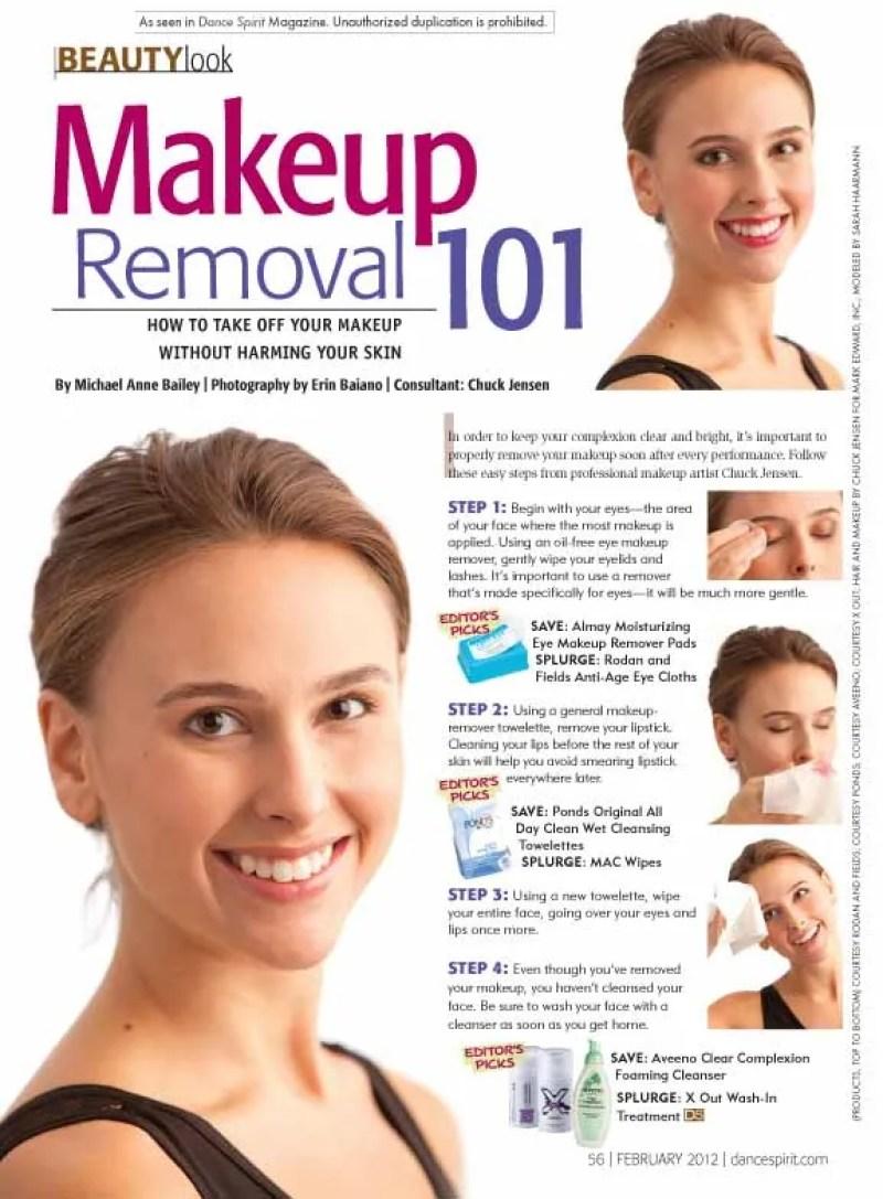 Steps To Take Off Makeup Saubhaya