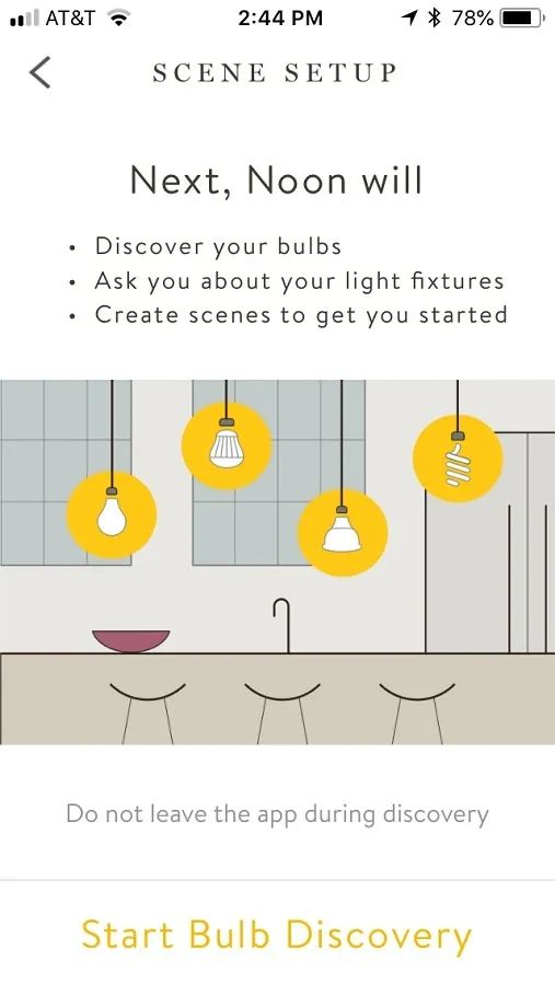review noon home smart lighting system