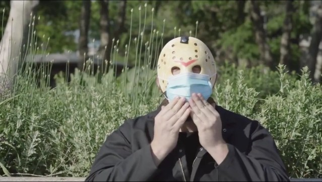 PSA uses mask-wearing 'Friday the 13th' slasher villain to get New Yorkers to ... wear masks