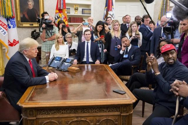 Kanye West meets with Jared Kushner amid indications GOP operatives are pushing his campaign to hurt Joe Biden