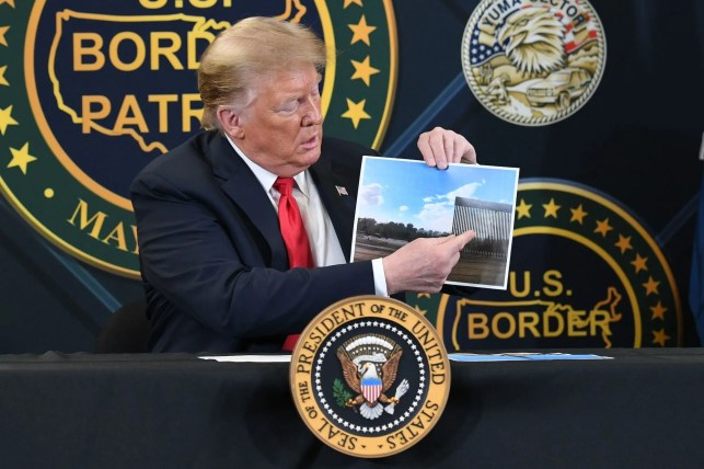 Supreme Court hands Trump a victory, says border wall construction can continue with Department of Defense funds