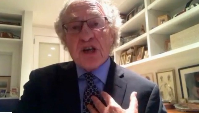 Dershowitz floats theory about Jeffrey Epstein's suspicious death: 'It seems to me very difficult'