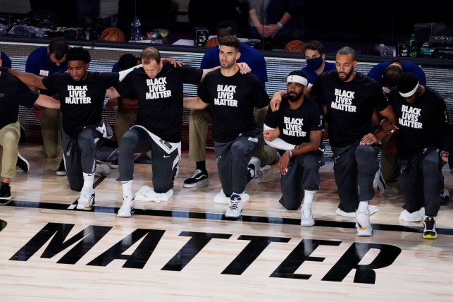 Oklahoma City Thunder players kneel during anthem even after threat from GOP congressman