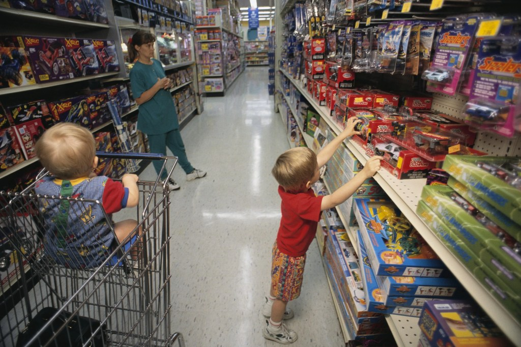 Proposed California bill would fine stores that segregate kids' toys and apparel into boys' and girls' departments