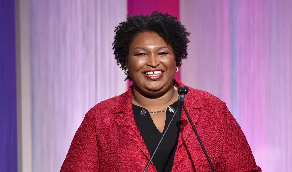 Demands FBI HQ be renamed after Stacey Abrams to scrub legacy of 'racist tyrant' J. Edgar Hoover