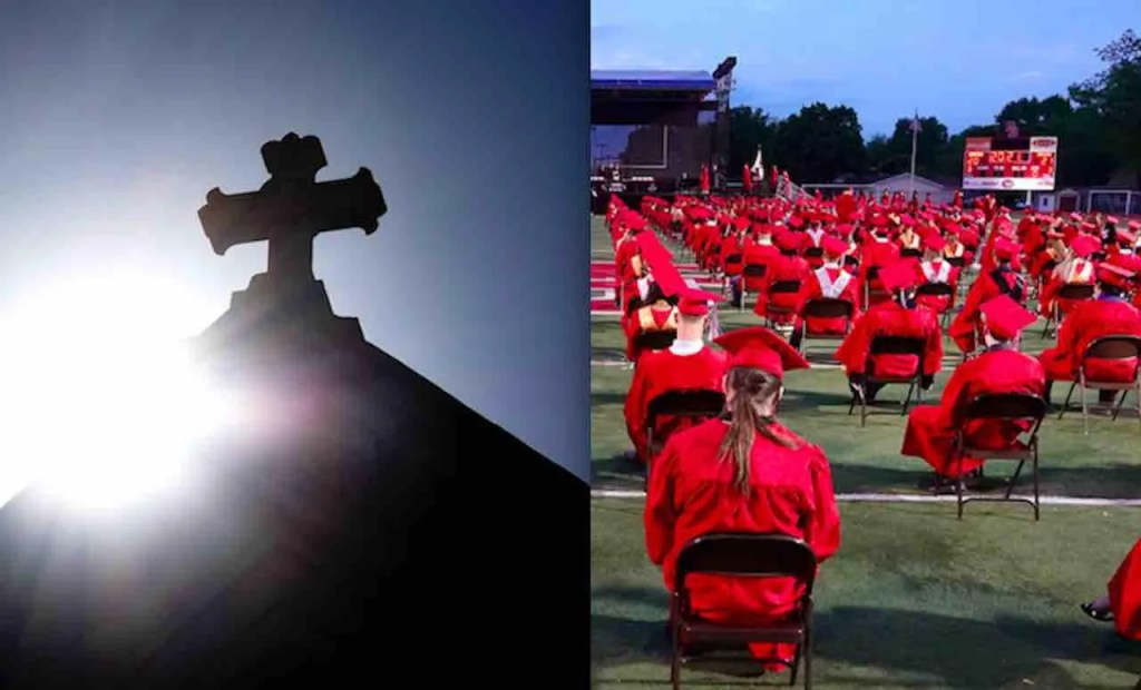 Public HS principal to valedictorian: Mentioning your Christian faith in graduation speech is 'not appropriate.' But valedictorian is fighting back.