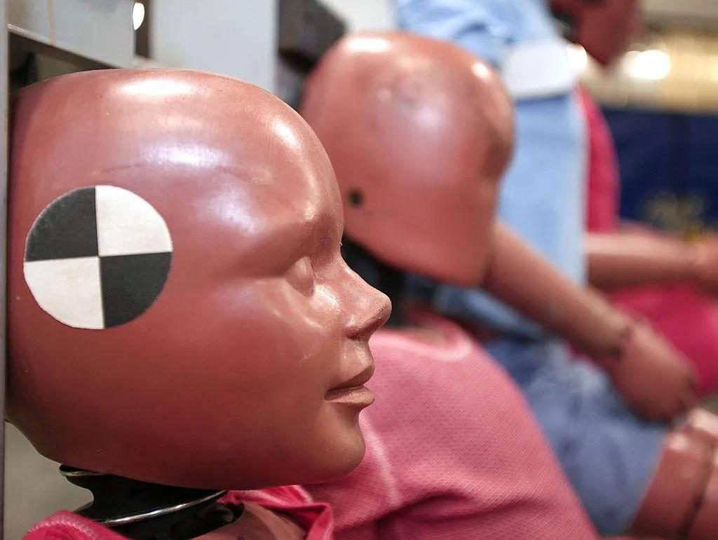 Democratic lawmaker calls for 'gender equality' in crash test dummies