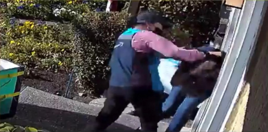 Amazon driver savagely beats elderly woman, screams about 'white privilege' — and it was caught on video
