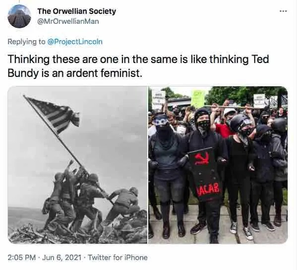 On D-Day anniversary, Lincoln Project actually equates left-wing Antifa thugs with soldiers who stormed Normandy's beaches and fought Hitler, Nazis