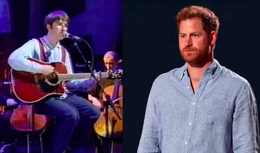 Prince Harry blasted as 'f***ing woke snowflake' by rock icon Noel Gallagher for ripping Royal Family