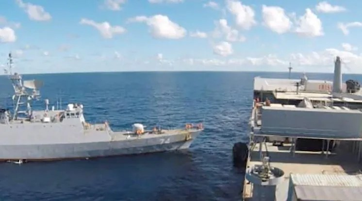 US concerned as Iranian warships cross Atlantic — reportedly headed for Venezuela and carrying arms
