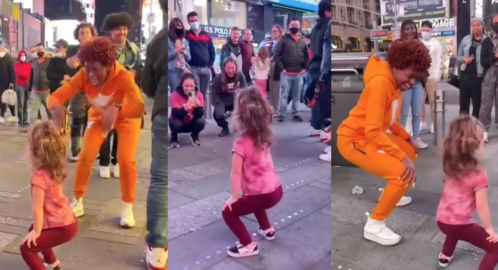 WATCH: Outrage erupts over viral video of young child twerking while crowd applauds on NYC street: 'This is beyond sick.'