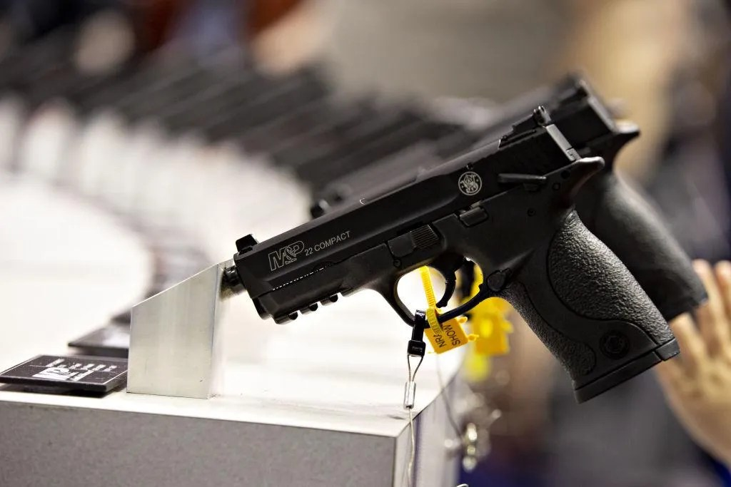 California judge rules shooting victims can sue Smith & Wesson