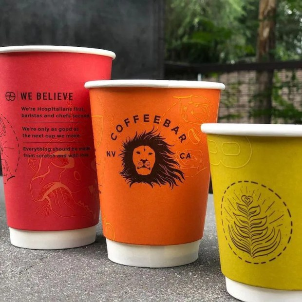 recyleable Coffe cups