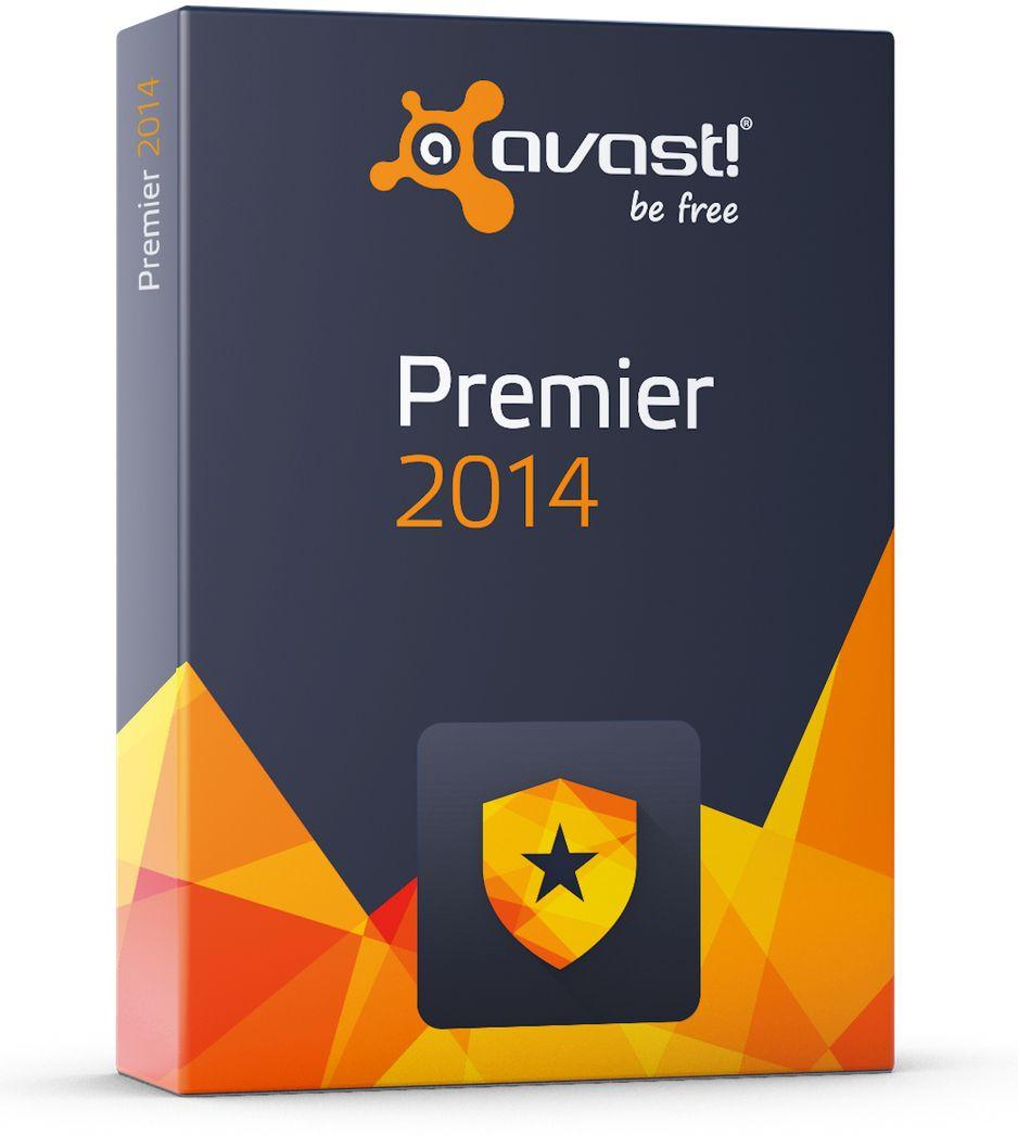 Avast Premier 2014 CD Cover