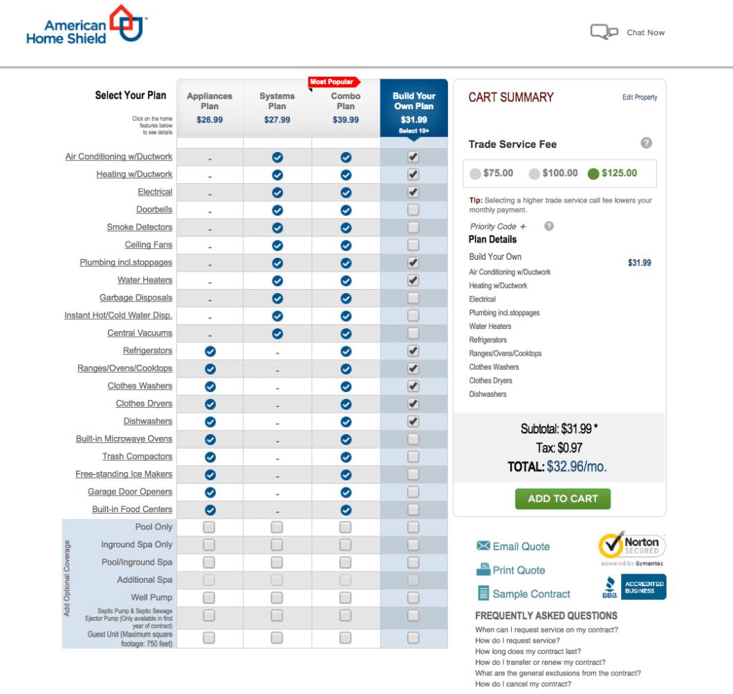 Ahs home warranty reviews review home co for Get a home plan com