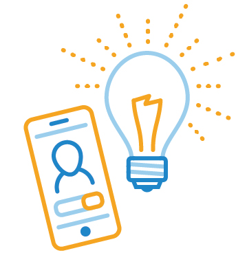 You can activate a smart lightbulb from across the house using your phone