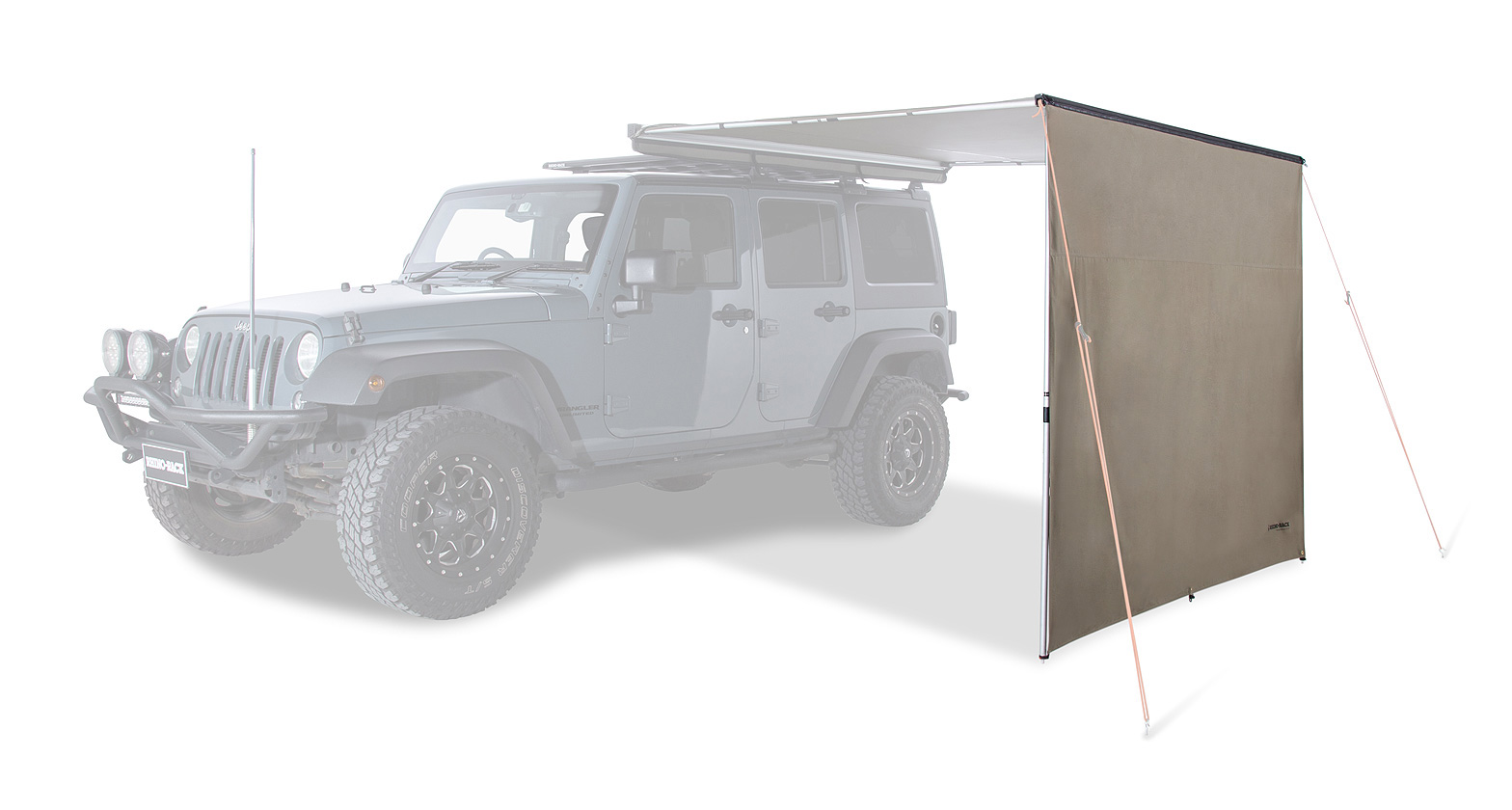 33300 batwing compact awning left