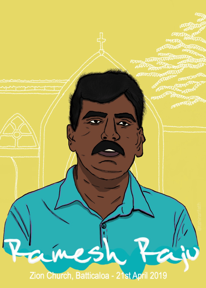 Ramesh Raju gave his life to save countless others, including that of his wife and two children.