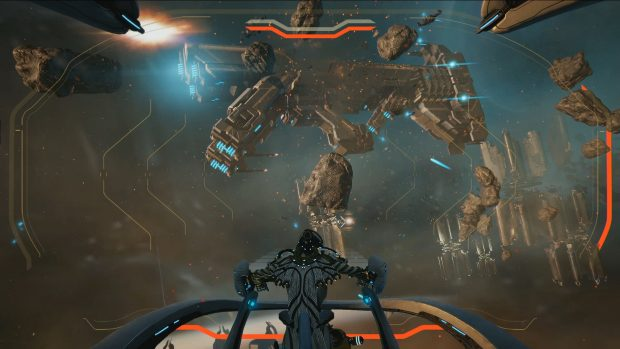 Warframe To Add Hoverboards Seamless Spaceship Battles
