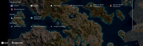 Assassin's Creed Odyssey map: how big is the map ...
