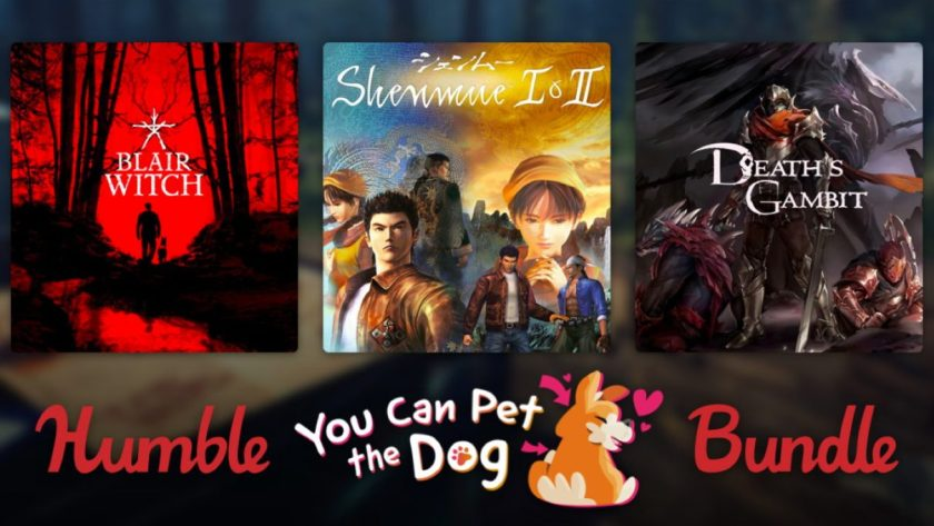 Artwork for the Humble You Can Pet The Dog Bundle.