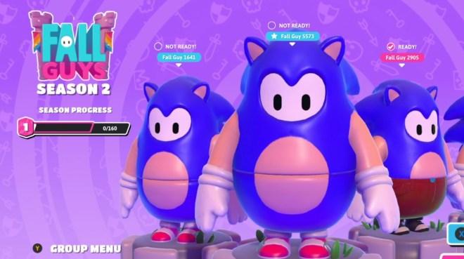 fall-guys-Sonic-crop Fall Guys is getting a Sonic skin so I am requesting a Kiryu costume | Rock Paper Shotgun