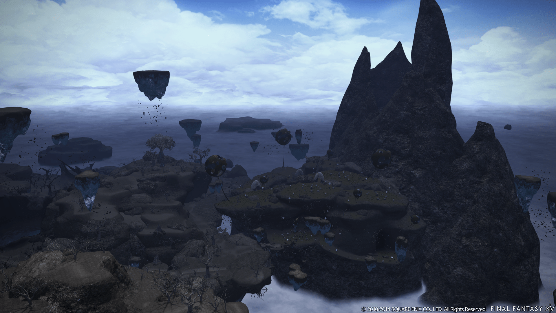 Dark Knight Class Flying Mounts Revealed For Final Fantasy XIV Heavensward RPG Site