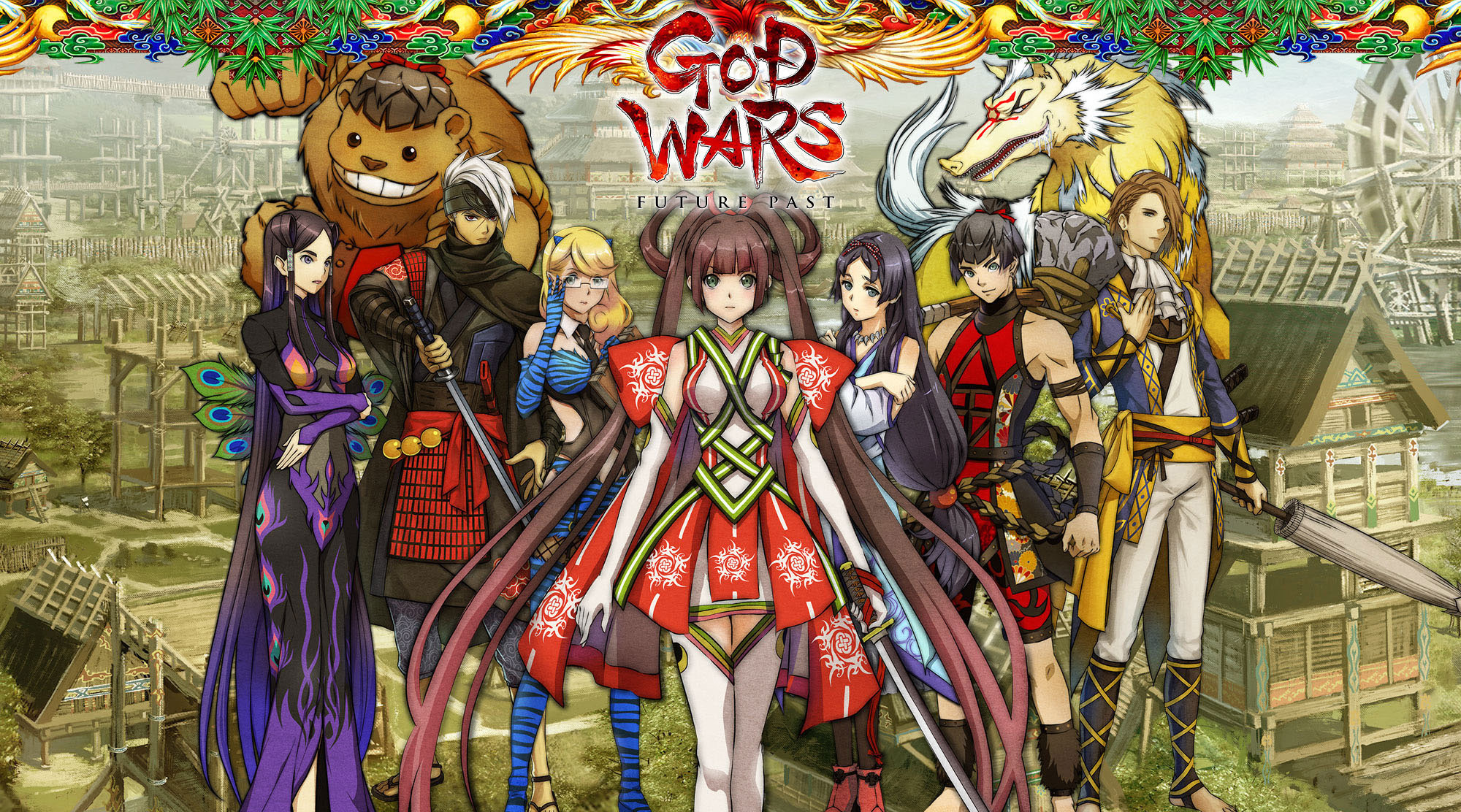 God Wars Future Past Debut Trailer RPG Site