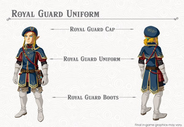 Zelda: Breath of the Wild Royal Guard Armor - completing ...