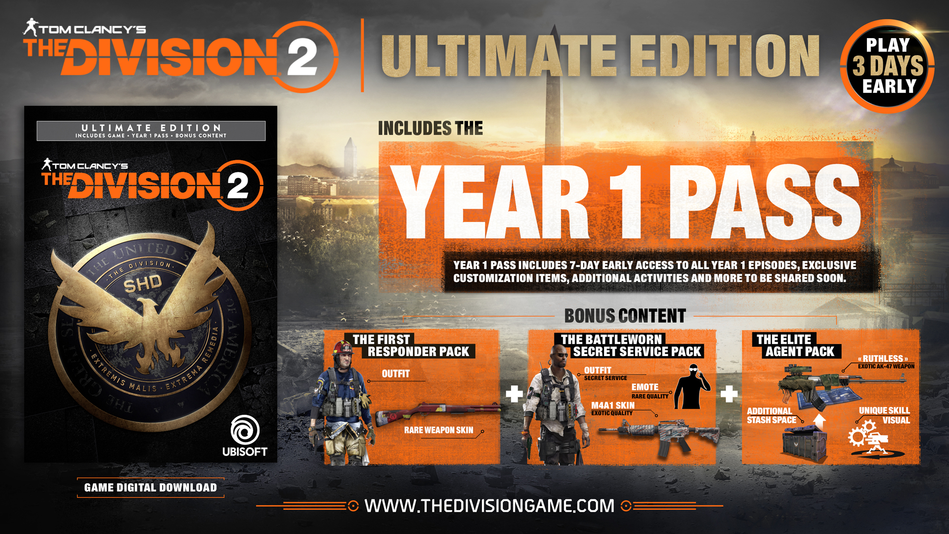 Tom Clancy S The Division 2 Gamescom Trailer And